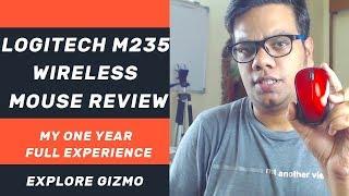 Logitech m235 Wireless Mouse Review - Best Wireless Mouse For Laptop Desktop