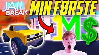 💲 MY FIRST MILLION 💲-DANISH JAILBREAK-DANISH ROBLOX-[#41]