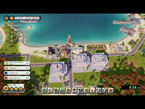 Tropico 6 - Take Me Out To The Ballgame Speedrun - Hard Difficulty in 13:50 |