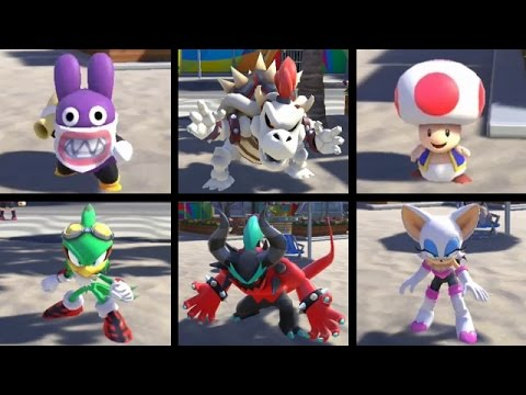 Mario and Sonic at the Rio 2016 Olympic Games (Wii U) - How to Unlock All Characters