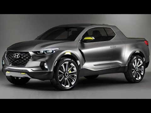 hyundai hcd 15 santa cruz compact pickup truck detroit 2015 youtube. Black Bedroom Furniture Sets. Home Design Ideas