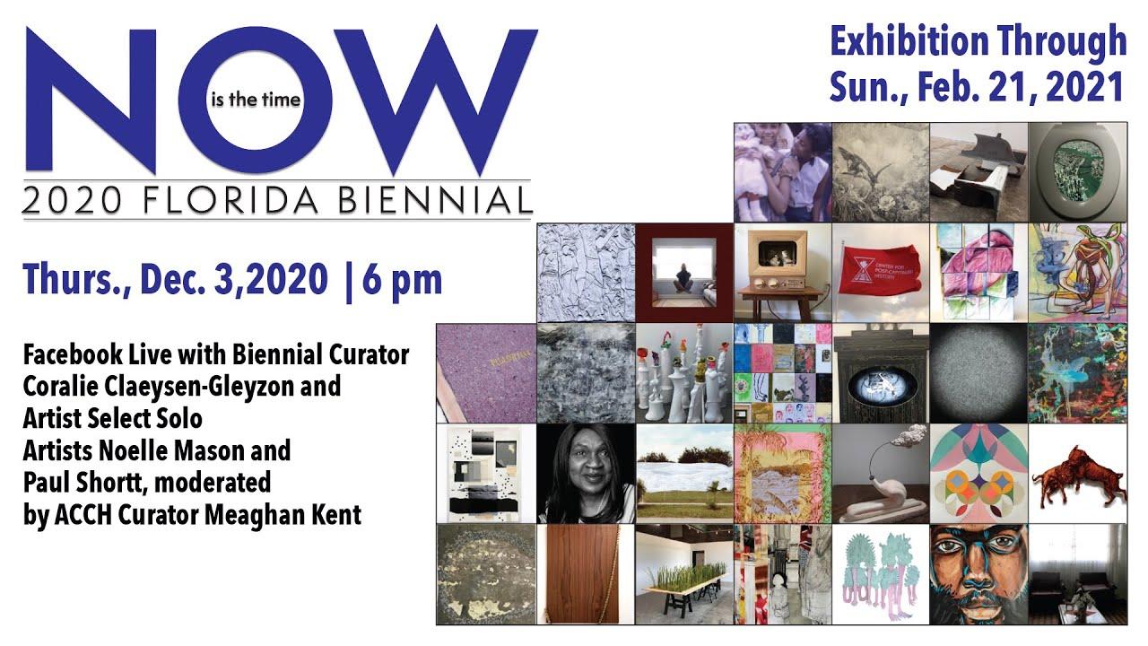 Florida Biennial Artist Talk - ICYMI!