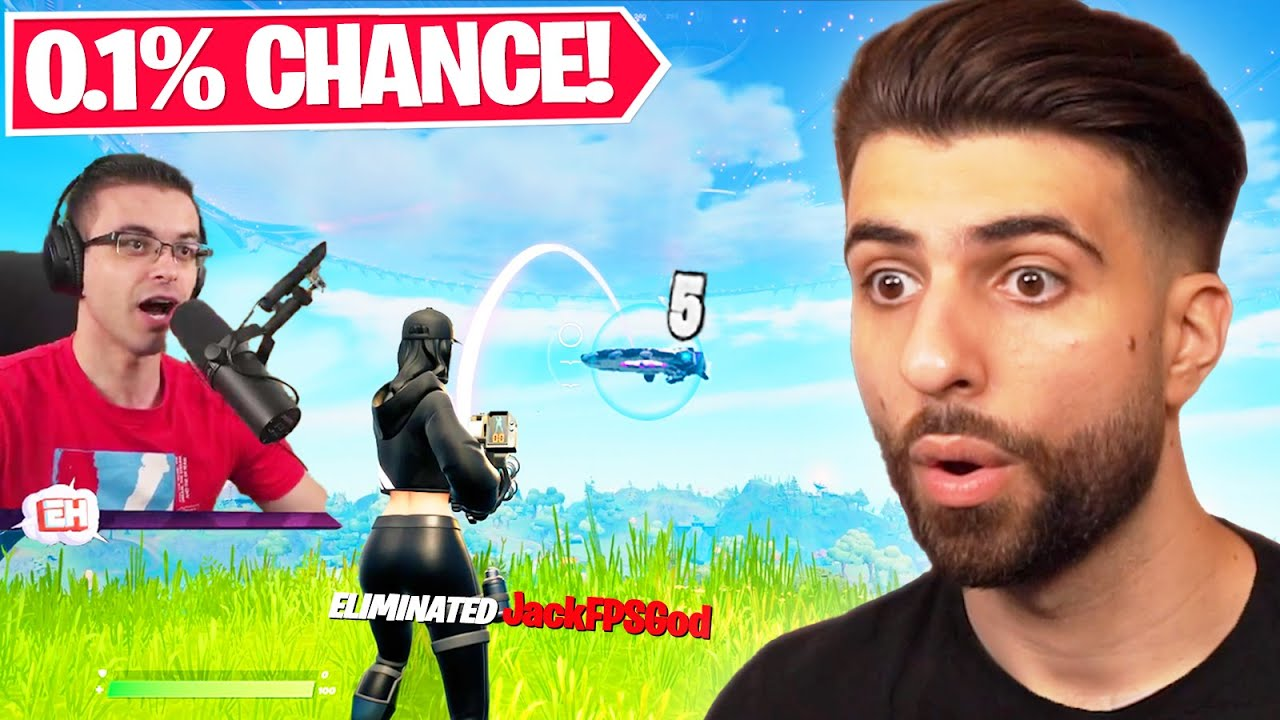 Reacting to the LUCKIEST Plays of Fortnite Season 7!