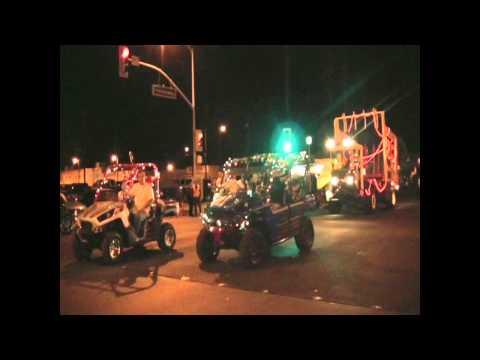 Christmas Parade in Blythe, California  - 2012