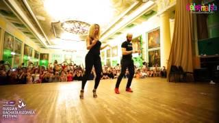Ataca & Alemana Touch Bachata Footwork @ RUSSIAN BACHATA KIZOMBA FESTIVAL & Salsa Room