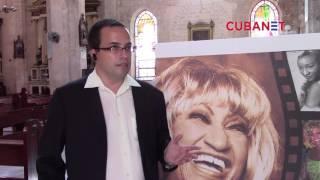Primera misa en honor a Celia Cruz en La Habana, Cuba