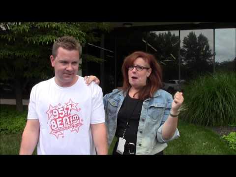 95.7 BEN FM - ALS Ice Bucket Challenge