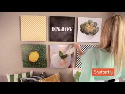 Shutterfly Home Decor with Kim Stoegbauer