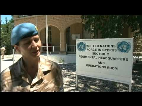 UK soldiers vital to UN's Cyprus mission 19.07.12