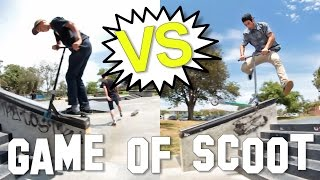 Arthur Plascencia VS Andrew Zamora - Game of S.C.O.O.T │The Vault Pro Scooters