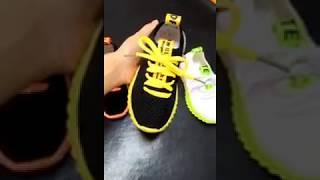 Sepatu Sport Sekolah Lampu Anak Unisex Casual Airmax Rope (ZH-SS055)