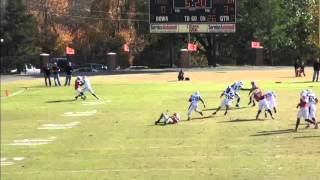 Southeastern Oklahoma State University Fall 2012 Offensive football HIghlights