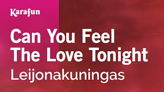 Karaoke Can You Feel The Love Tonight - Elton John *