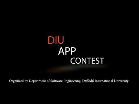 DIU-App contest 2017||Organized by DIU Department of Software Engineering