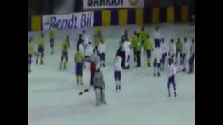 Хоккей с мячом  УКРАИНА - МОНГОЛИЯ драка после матча