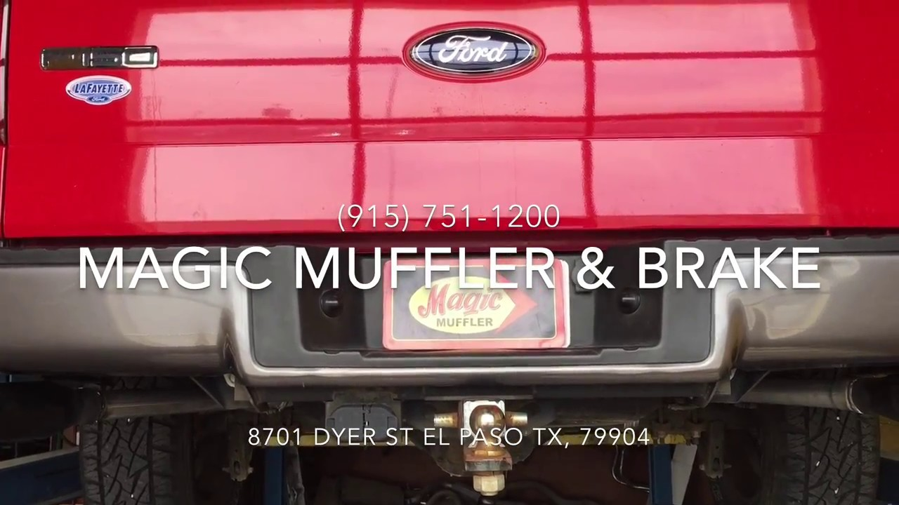 2008 Ford F 150 5 4l V8 True Dual Exhaust Feat Flowmaster Super 44