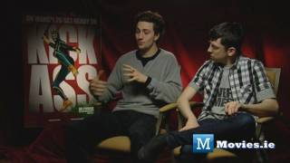 KICK-ASS interview with Aaron Johnson & Christopher Mintz-Plasse (Red Mist) Balls To The Wall thumbnail