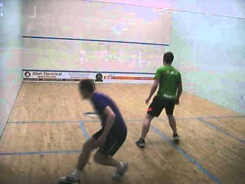 """CURTIS TOMLINSON V CRAIG BARTLETT """"The Manor UK-Racketball Series 2013"""""""