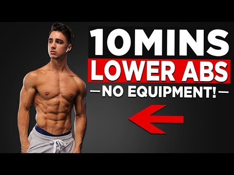 10 MIN LOWER AB WORKOUT (GET YOUR LOWER ABS TO SHOW!)