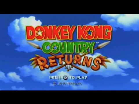 Donkey Kong Country Returns (Wii Retail Download)- Gameplay Footage