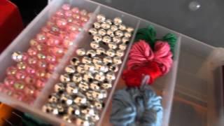 видео обзор №2.все для плетения фенечек (обновления)