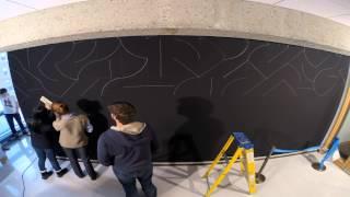 Phillips Academy Math Students Create Sol LeWitt