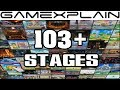 Video Tour of All 103 Stages in Super Smash Bros. Ultimate....So Far! (New & Returning)
