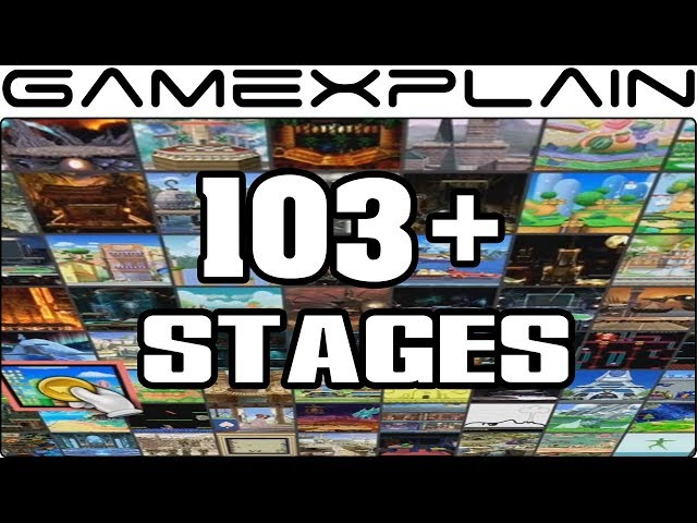 Super Smash Bros  Ultimate Full Stage List | Heavy com