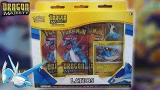 Ejderhalar Geliyor - Pokemon Dragon Majesty Latios Pin Collection - Kutu Açılılşı