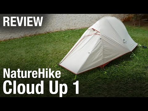 NatureHike CloudUp 1 Pessoa - Review Da Barraca De Trekking (análise)