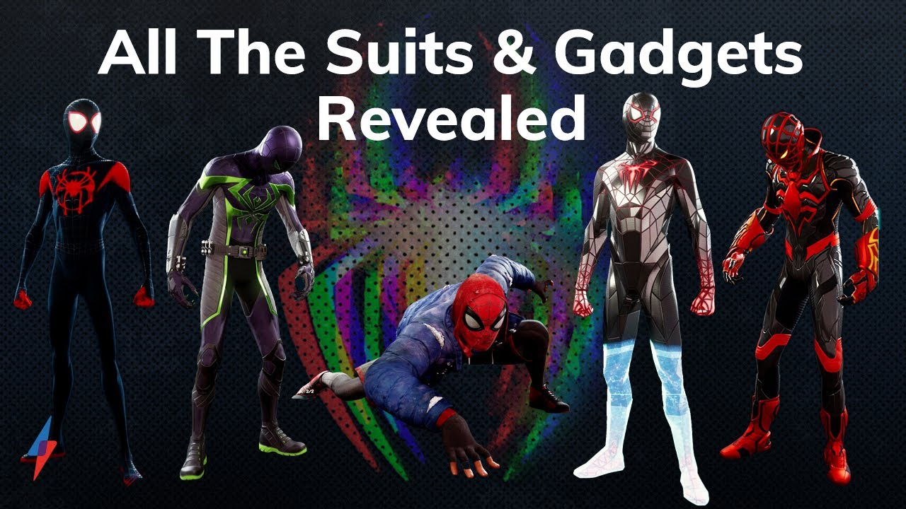 All The Suits & Gadgets In Spider-Man: Miles Morales