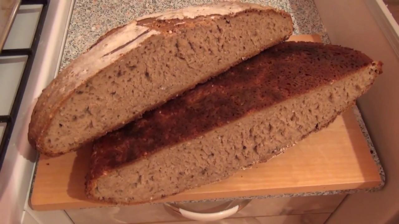 Полезный Хлеб на Ржаной Закваске своими руками
