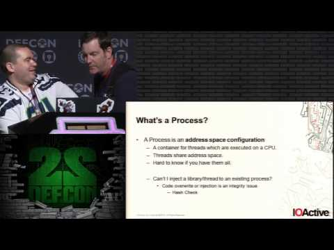 DEF CON 22   Weird   Machine Motivated Practical Page Table Shellcode & Finding Out What's Running o