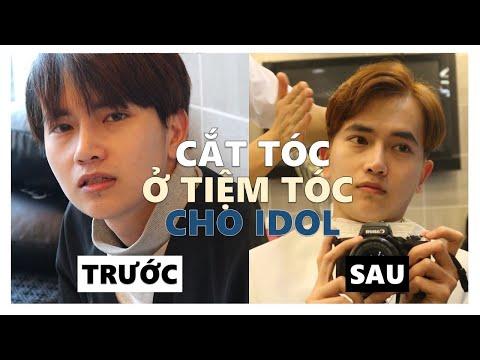 Cắt tóc Hàn Quốc: Uốn và Nhuộm - Ở đây từng cắt cho Jungkook, Kang Daniel, Minhyun