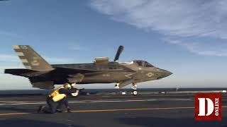 La portaerei Cavour certificata per l'impiego degli F-35B