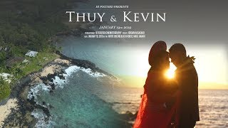 White Orchid Beach House Wedding Film / Thuy & Kevin / HI FOCUSED