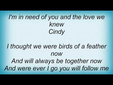 Temptations - Cindy Lyrics
