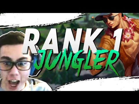 TFBlade | ROLE SWAP!!! JUNGLE ONLY to CHALLENGER!!!