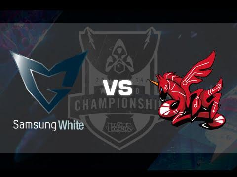 Samsung Galaxy White vs Ahq eSports - World Championship 2014 - Fase de Grupos - Español