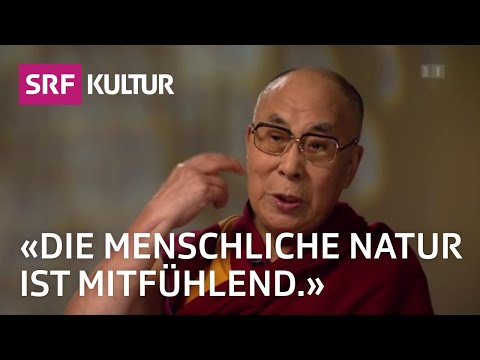 Dalai Lama: «Wir sollten ganzheitlich auf das Menschsein blicken» (Sternstunde Religion, 23.10.16)