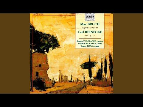 8 Pieces For Clarinet, Viola And Piano, Op. 83: Andante Con Moto. Nachtgesang