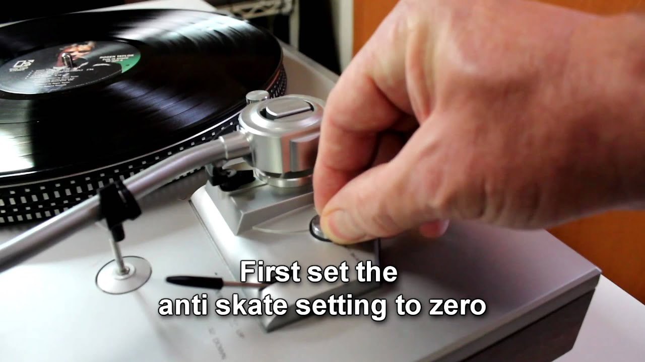 Howto Balance A Tonearm Correct Stylus Tracking Force Is