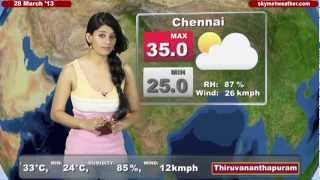 Skymet Weather Report - India March 28, 2013
