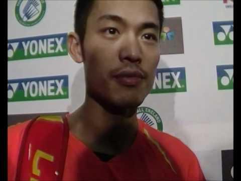 2012 Yonex All-England Open - Lin Dan inks Xie Xinfang