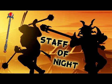 Shadow Fight 2. Staff of Night. Destroying Widow Bodyguards.