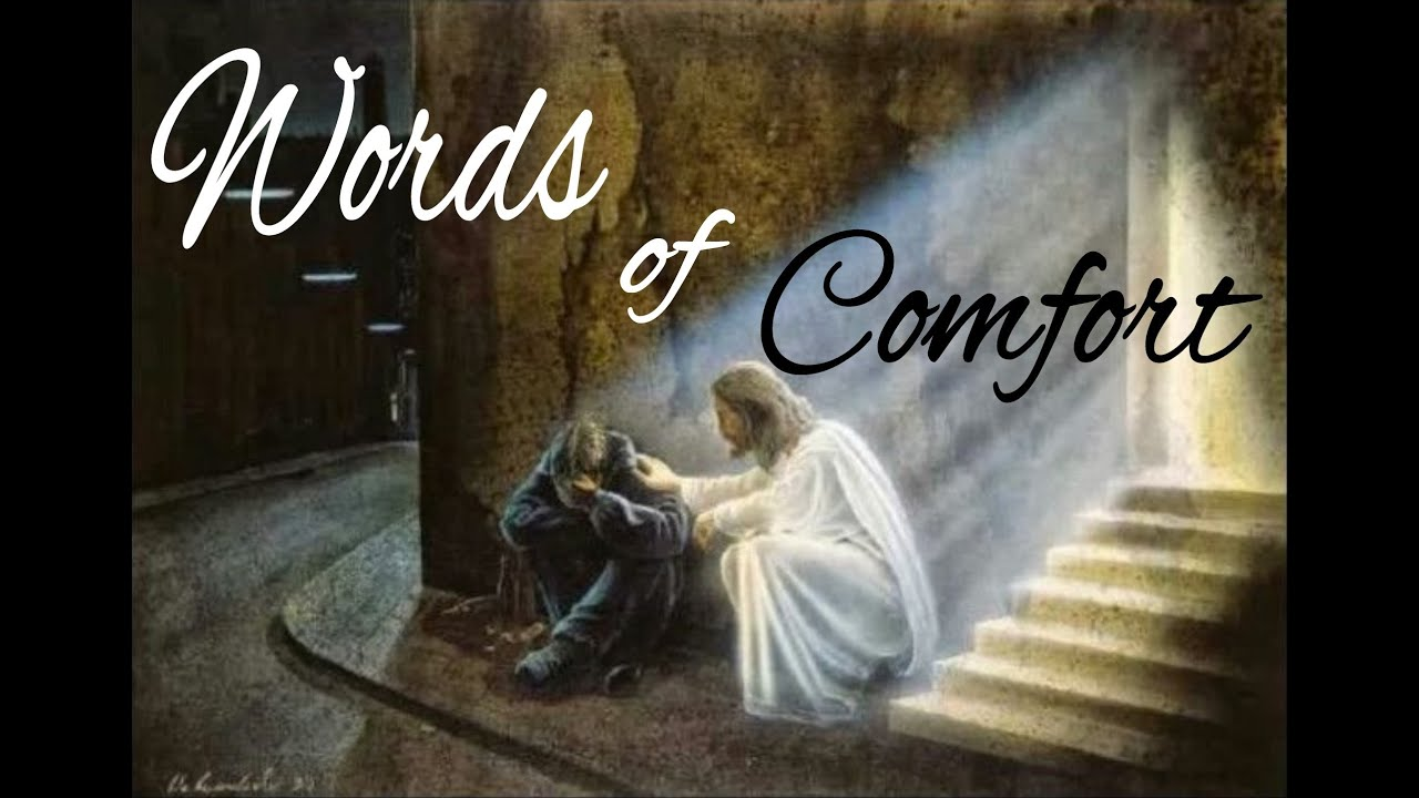 Words Of Comfort... Suffering - Illness... Connection With God... (Ps. 32:8/Mat.28:20/1 Peter 1:6-8)