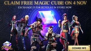 Free Fire New Event Full Details : New Updated Magic Cube Store | Free Rewards #gameofdeath