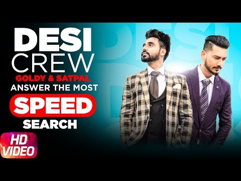 Desi Crew | Goldy | Satpal | Answers The Most Search Speed Questions | Speed Records