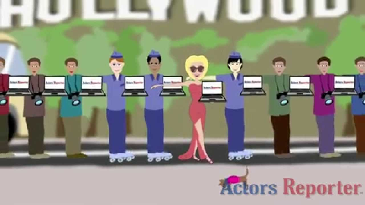 Actors Reporter Animation