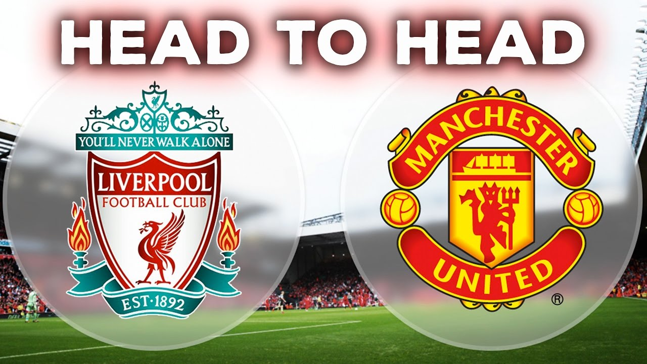 MAN UNITED VS LIVERPOOL | HEAD TO HEAD | STATS - YouTube